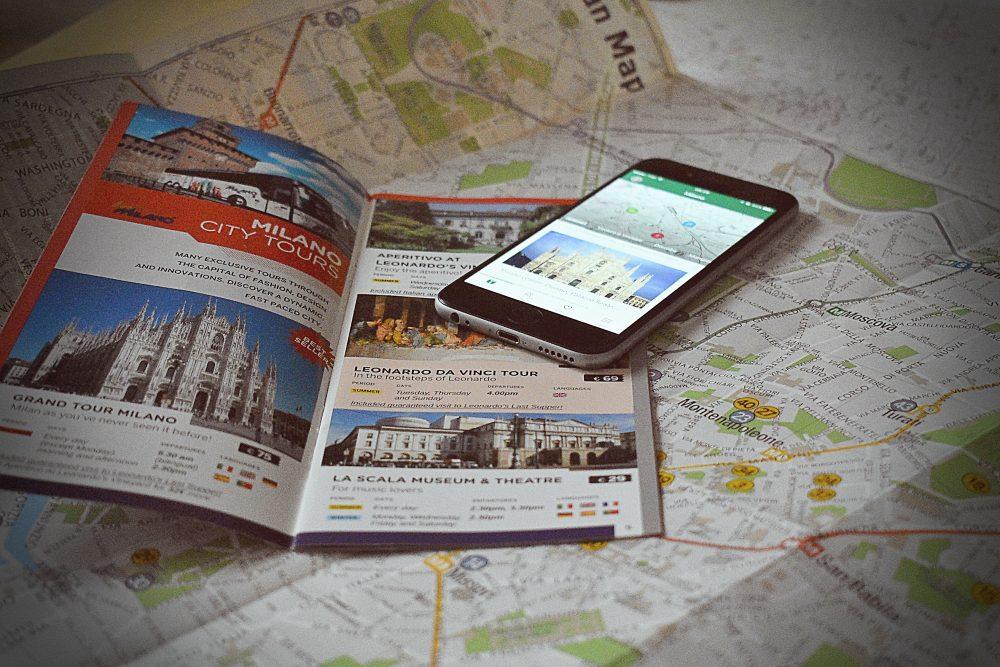 Miláno v smartfóne
