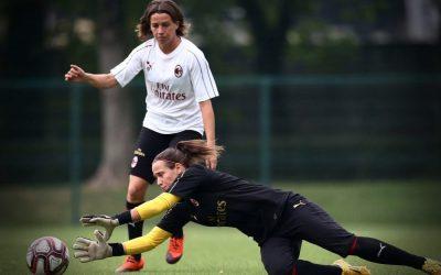 Slovenka v bránke AC Miláno