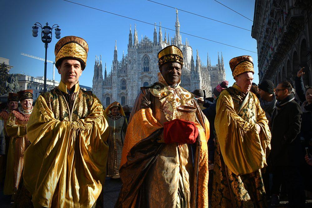 Troch kráľov nájdete v Miláne
